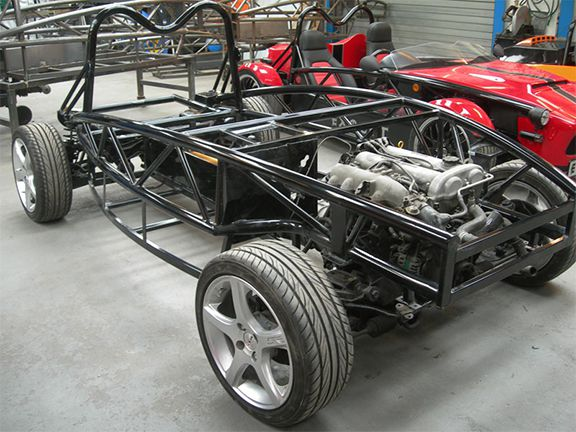 Chassis of a Exocet