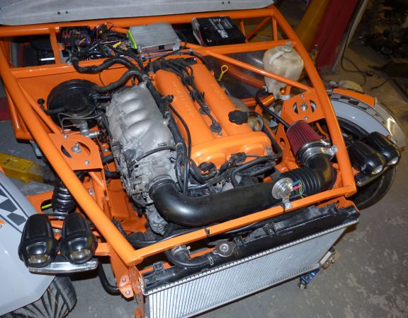G Type Kit Car Based On The Mazda Mx5 Running Gear From Mills